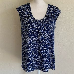 J. Crew size 6 sleeveless top